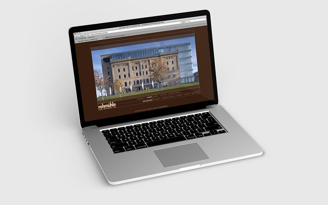 Professionelle Homepage für Restaurant Rohmühle Bonn