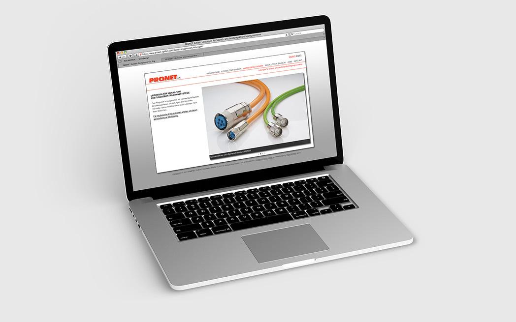 TYPO3 Website für PRONET