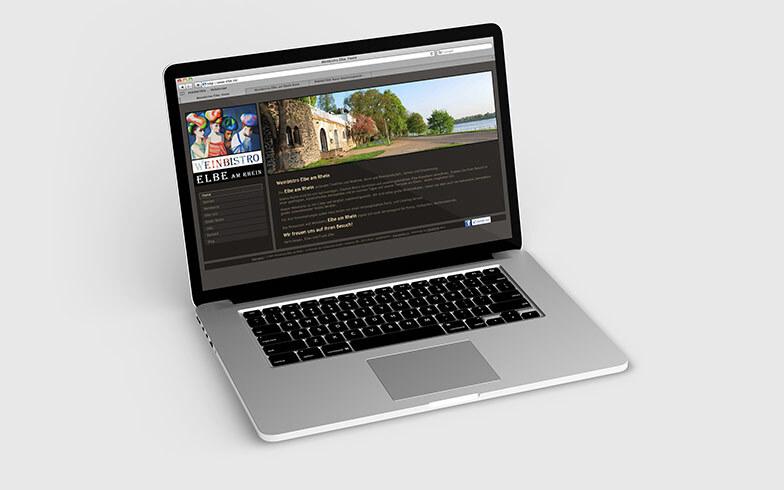 Erstellung einer TYPO3 Homepage für Weinbistro Elbe Bonn