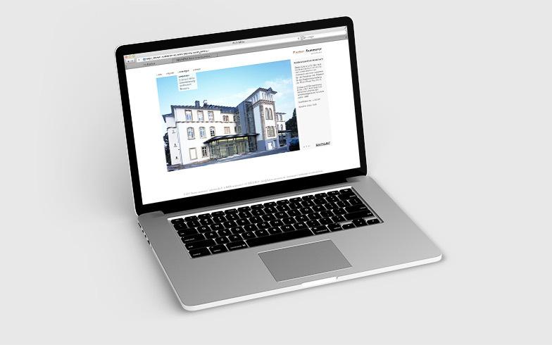 TYPO3 Homepage mit Projektdatenbank für das Architekturbüro Fischer und Summerer