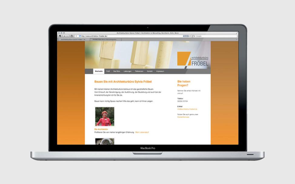 WordPress Webseite für ein Architekturbüro aus Wesseling bei Köln