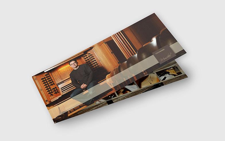 Gestaltung von Flyer und Visitenkarten für Bonner Musiker
