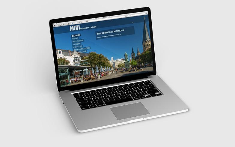 TYPO3-Homepage für Bonner Gastronomie