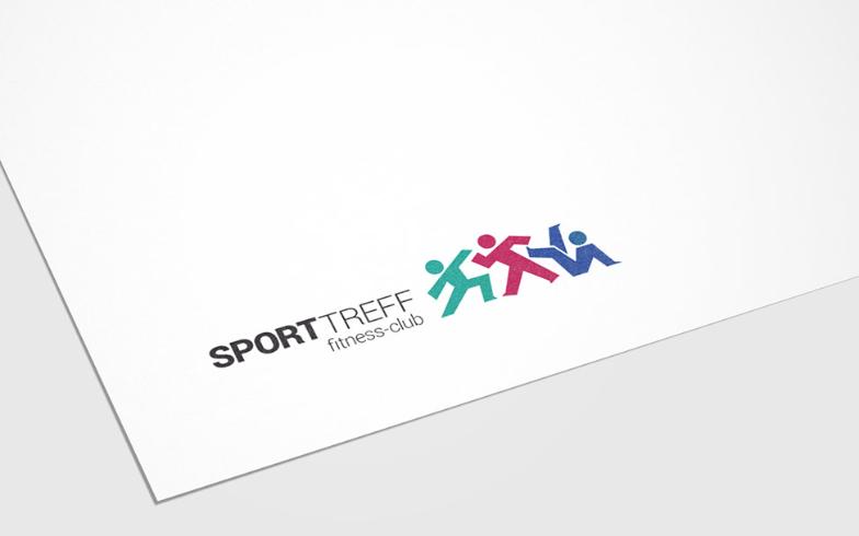 Corporate Design und Logo-Entwicklung für SportTreff Fitnessclub