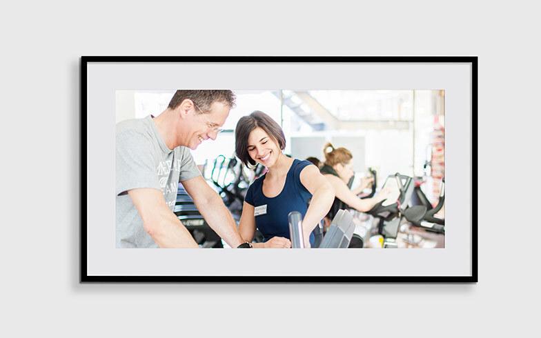 Teamfotos und Stimmungsfotos für SportTreff Fitnessclub