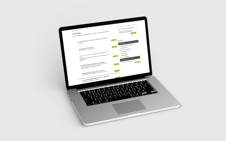 Entwicklung einer Infothek für Netzwerk Familienbewusste Unternehmen