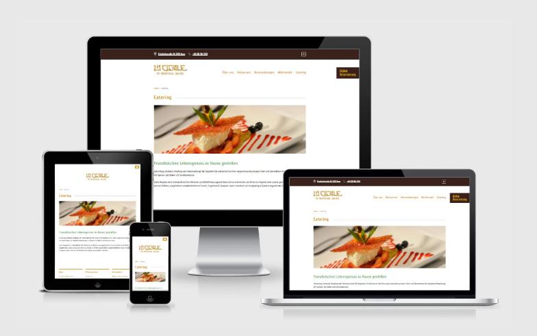 Webseite-Relaunch eines Bonner Restaurants