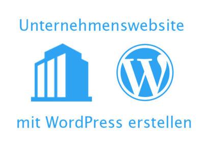 Professionelle WordPress Website für Unternehmen erstellen