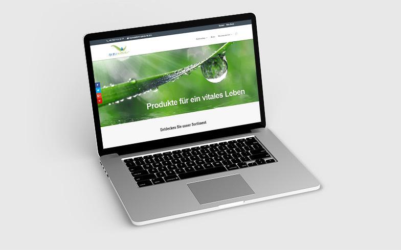 Entwicklung eines Onlineshops für Dropshipping für Quellnatura