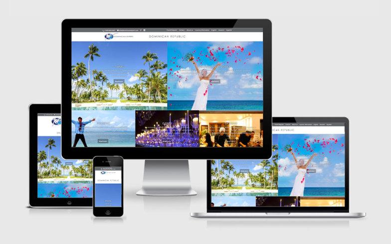 WordPress Reiseportal in Responsive Design mit eigenen URLs für alle Angebote