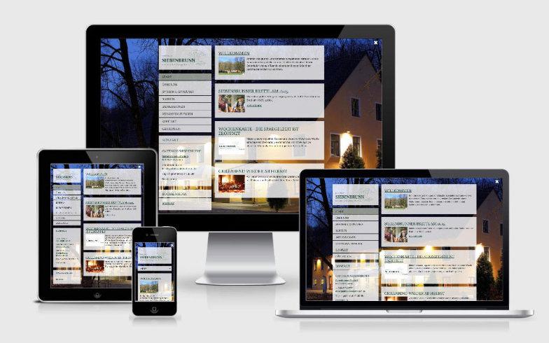 Migration der TYPO3 Website zu WordPress für das Gasthaus Siebenbrunn