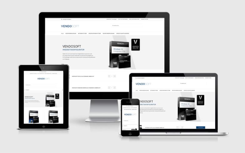 Shop-Erweiterung mit WooCommerce für VENDOSOFT