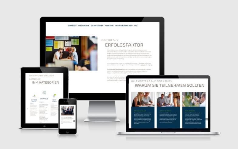 Entwicklung eines WordPress OnePagers für die Agentur Serviceplan