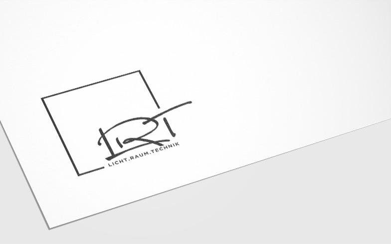 Logoentwicklung für die Lichtplanung Licht.Raum.Technik