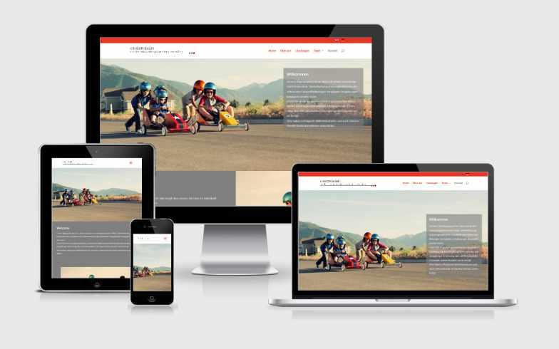 Moderner Website-Onepager für Crinicon