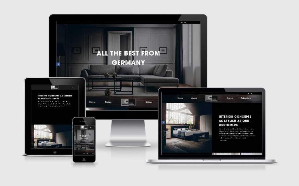 Entwicklung einer WordPress Website für Garant Home Design