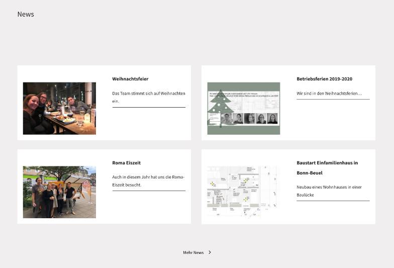 Referenzen Bilder Template