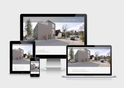 Entwicklung einer repräsentativen neuen Website für das Architekturbüro Hoormann
