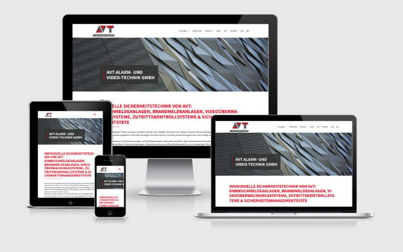 WordPress Website mit dynamischen Inhalten für Sicherheitstechnik-Unternehmen