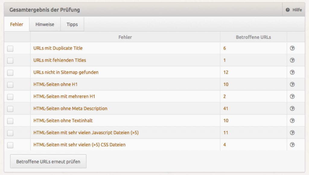 Screenshot-SEO-Fehler-Analyse
