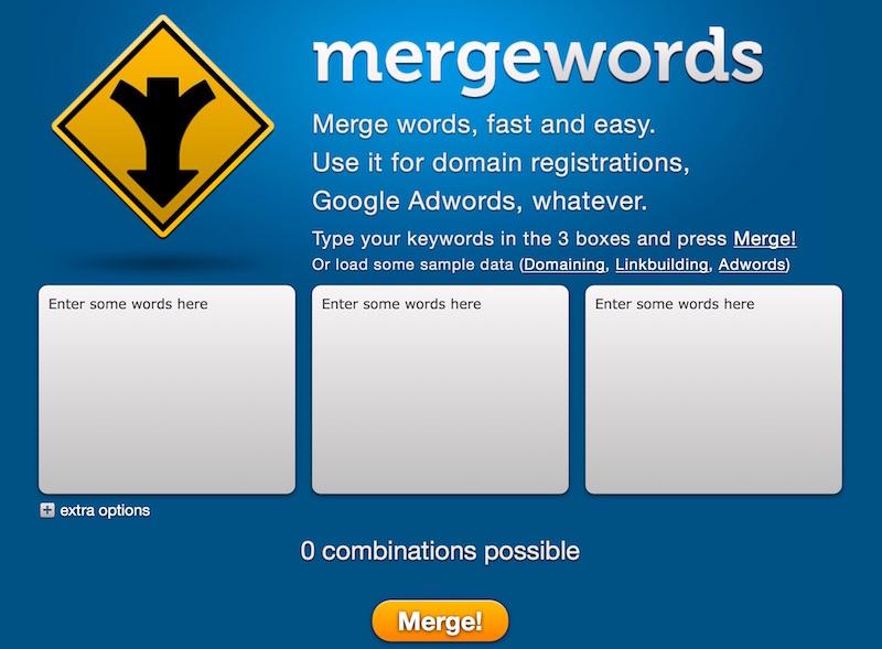 Keyword Tool zum Mixen von Kortbestandteilen