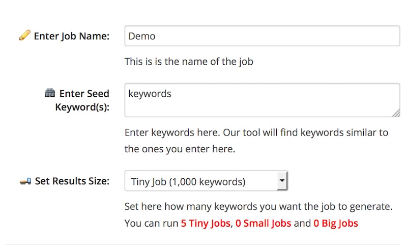 Sehr gutes kostenloses Keyword Tool: Termexplorer