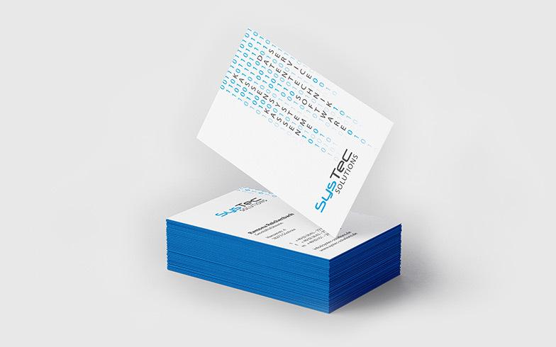 Geschäftsausstattung SysTec Solutions