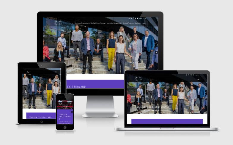 Dynamisierung der Website congrex.com