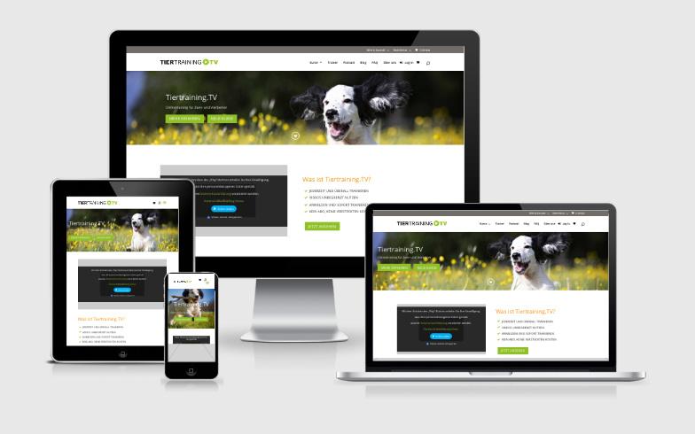 Entwicklung eines Video-Portals für Tiertraining.TV