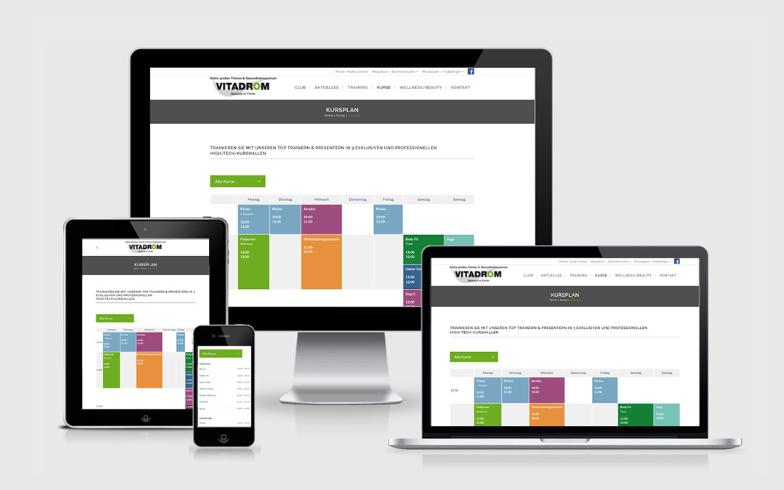 Relaunch Vitadrom Köln in Responsive Webdesign