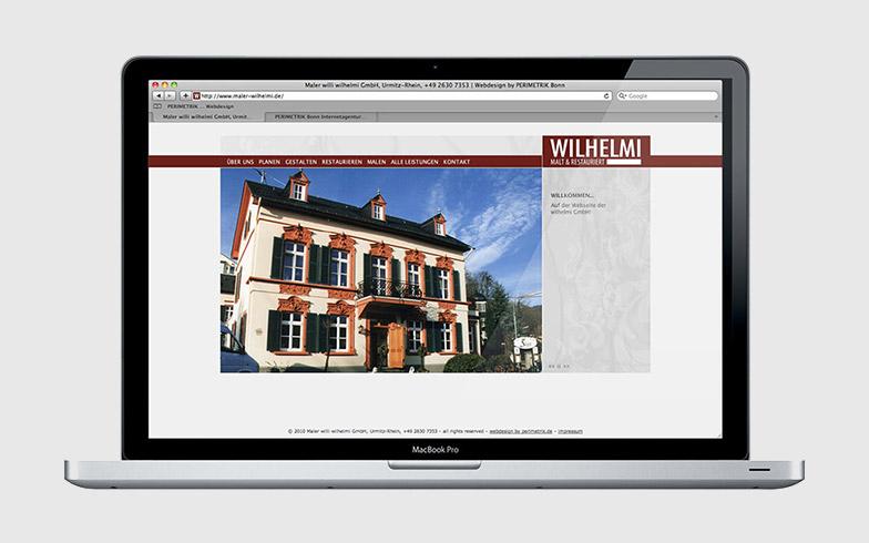 Professionelle Flash-Homepage für traditionsreichen Malerbetrieb
