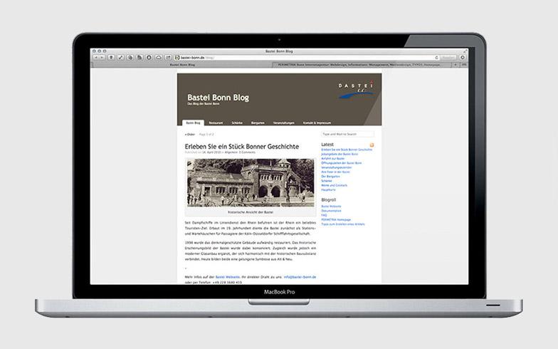 Eigener WordPress Blog für Restaurant Bastei Bonn