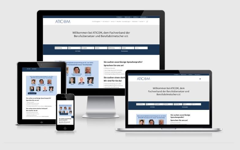 Website-Relaunch und SEO-Optimierung für einen Fachverband für Dolmetscher