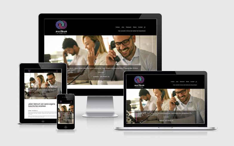 WordPress Webseite mit Ländererkennung für einen Schweizer Hotline-Betreiber